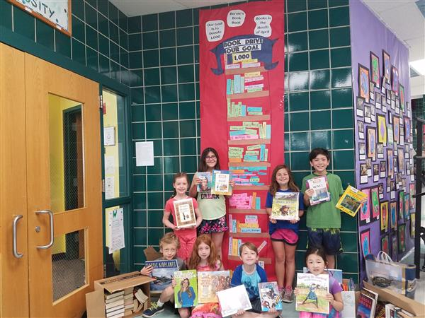 Book Drive Exceeds Expectations