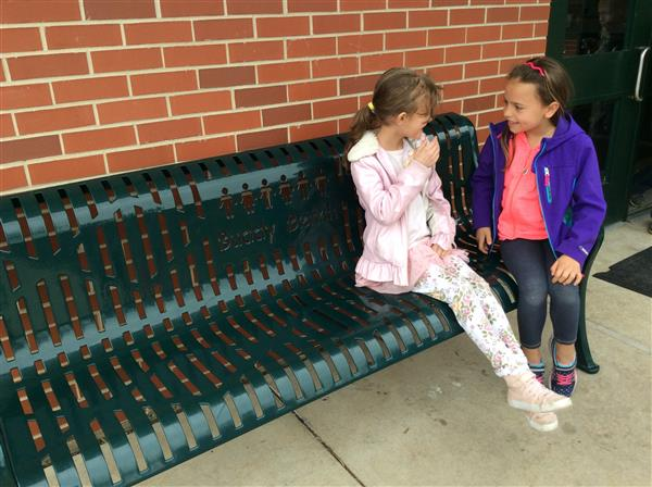Buddy Bench Fosters Friendship