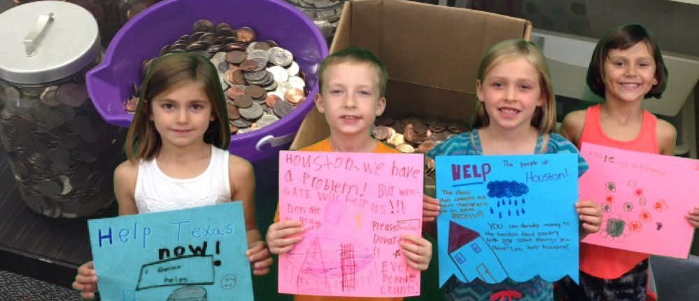 Pennies for a Purpose:  Westgate Helps Houston
