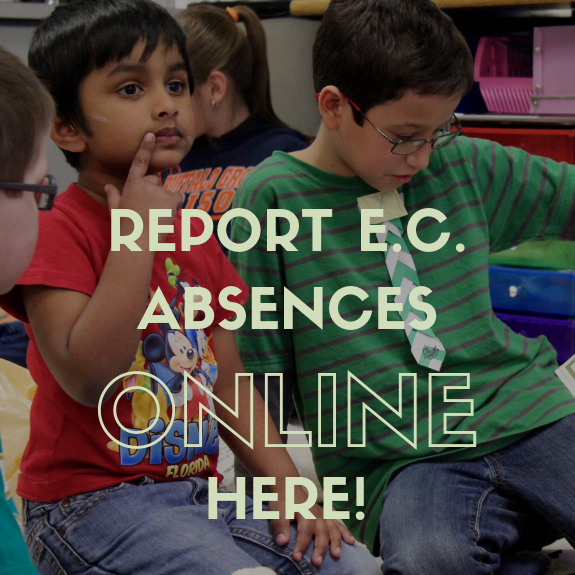 REPORT E.C. ABSENCES HERE.