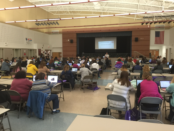 District 25 hosts EdCamp for area teachers