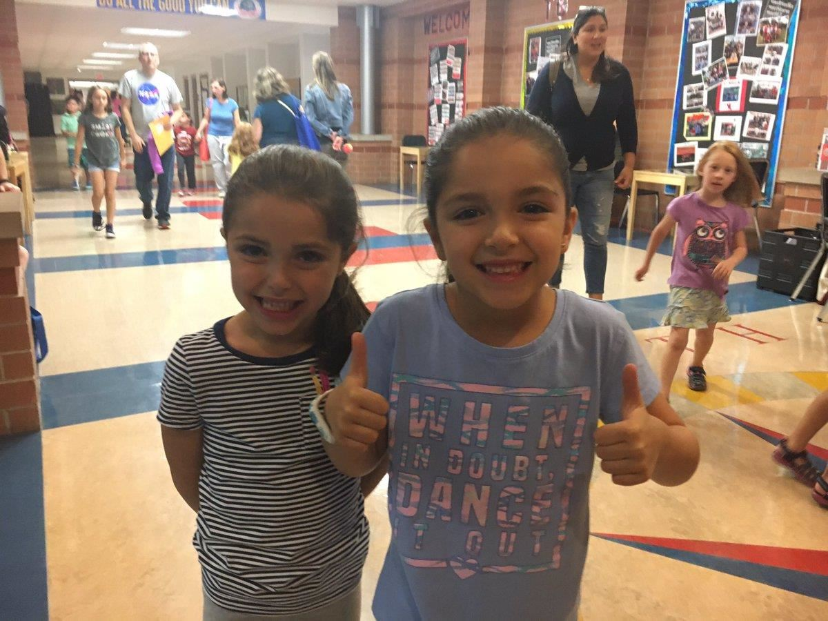 Two District 25 students excited after leaving the session on dance choreography at the very first #Artspiration night at Sou
