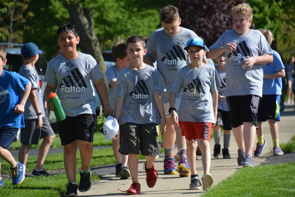 PATTON'S WALK-A-THON HITS $120,000