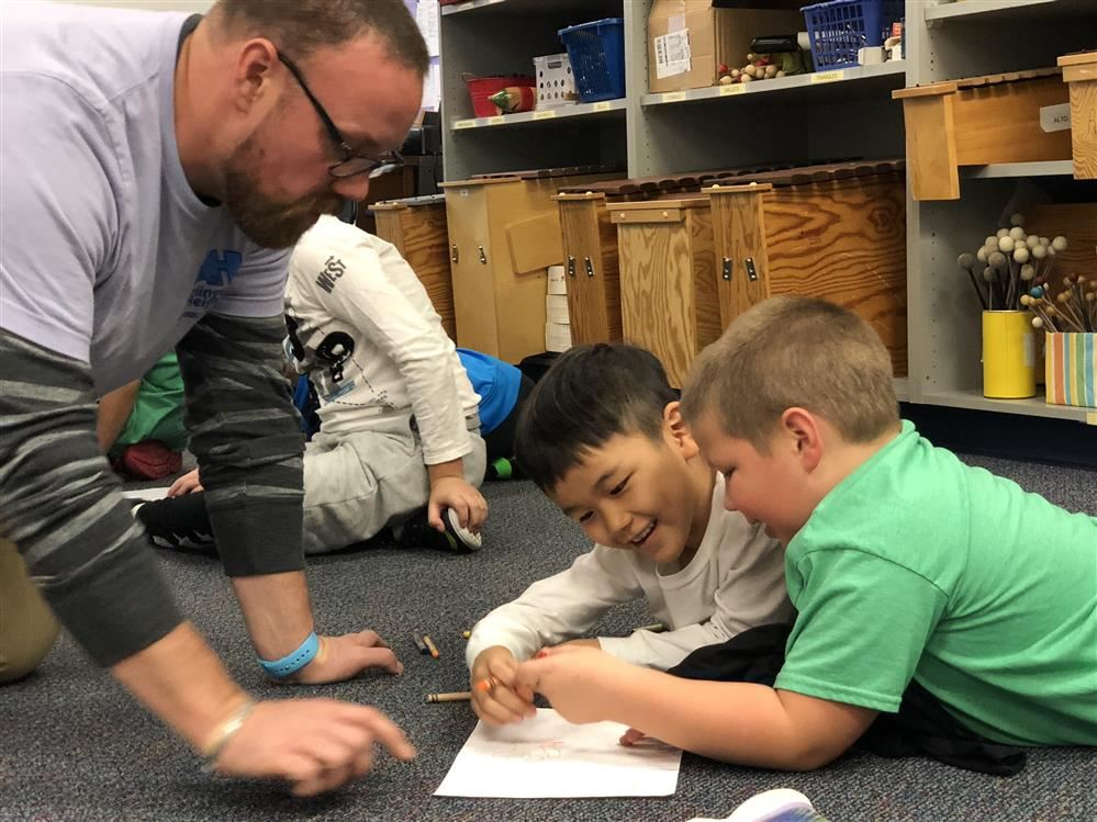 Read-A-Thon Day brought to light a very special friendship at Greenbrier