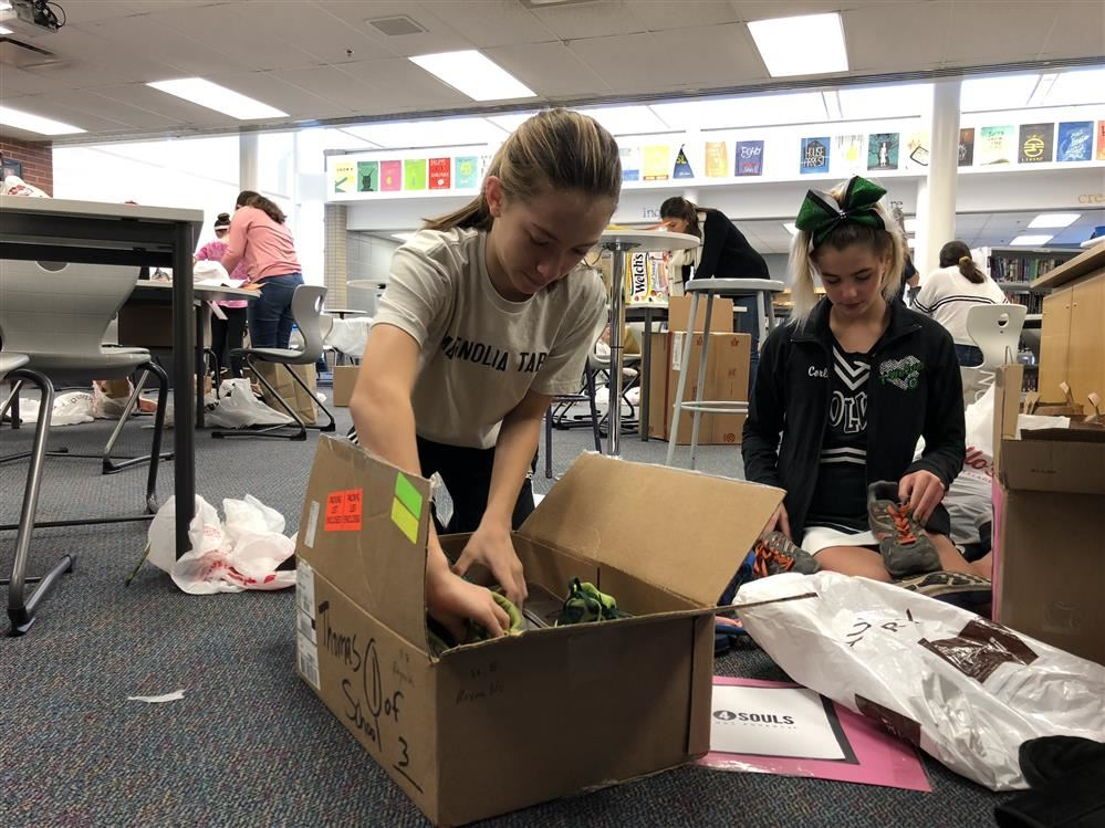 Student run leadership club has community-wide impact