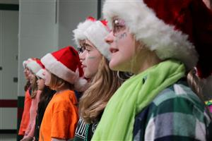 Greenbrier's Chorus entertained their school and community with several concerts throughout the week.