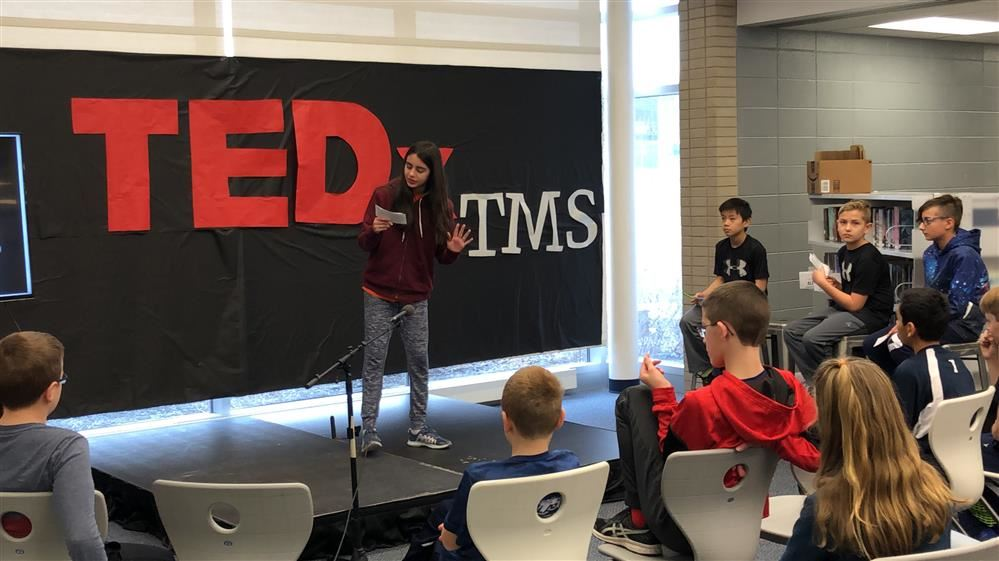 TEDx comes to TMS