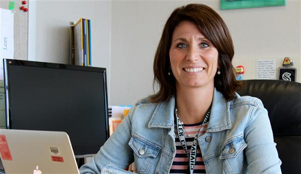 Meet your new admin: Lori Naumowicz, Thomas Middle School