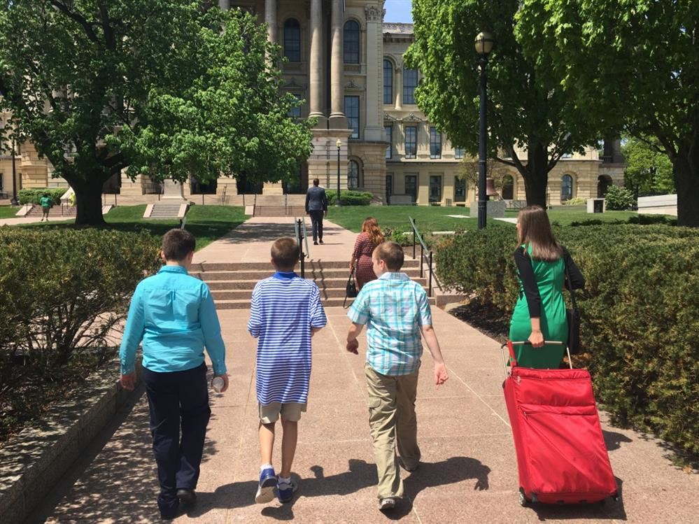 District 25 students had the ear of state legislators in Springfield