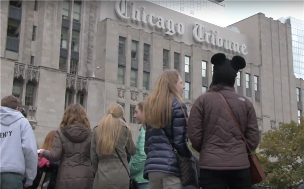 VIDEO: Thomas 8th Graders Contribute to Tribune Editorial Board Meeting