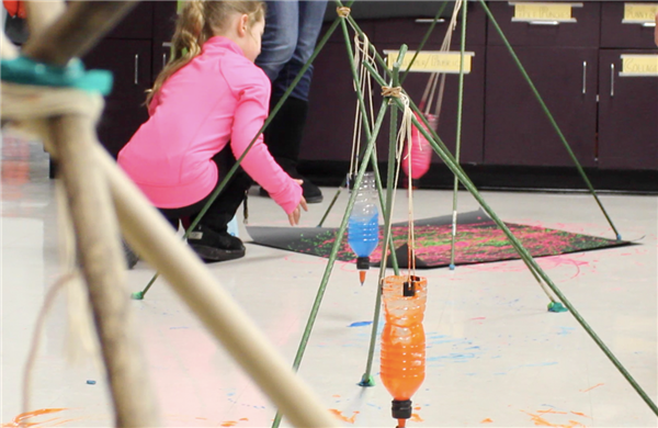 VIDEO: Patton's Family STEAM Night Draws Crowd