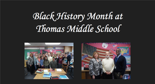 Thomas Middle School celebrates Black History Month