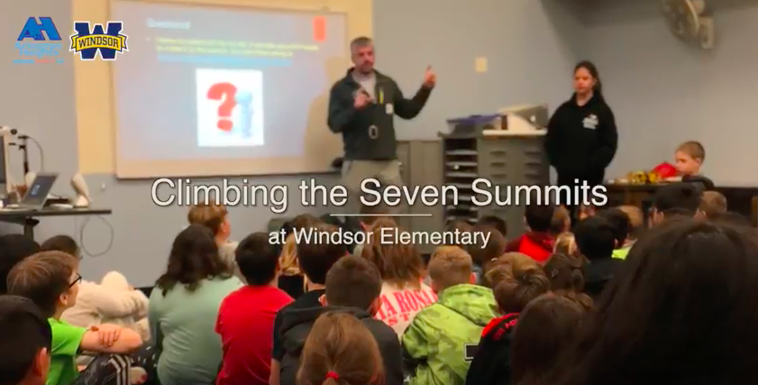 "Scaling ""The Seven Summits"" at Windsor"