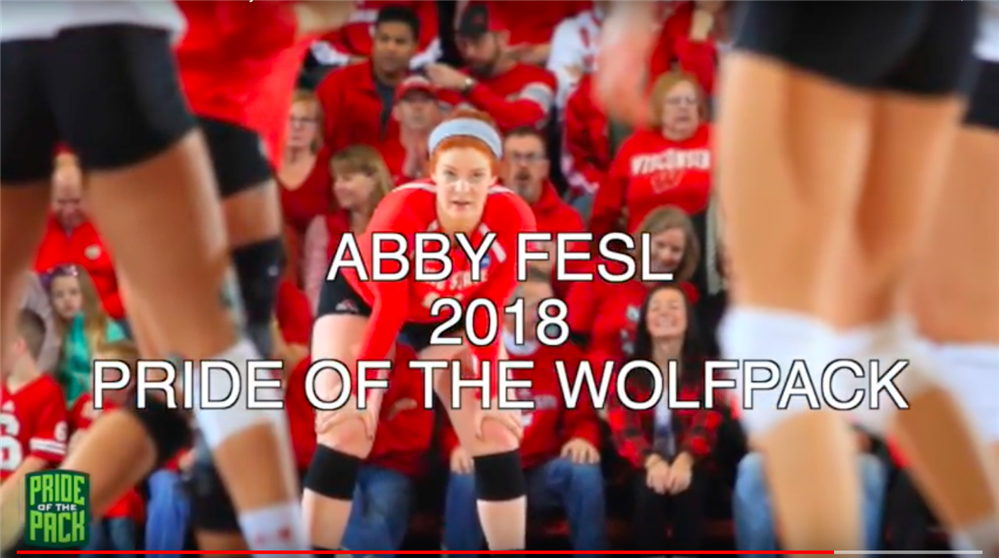 VIDEO: Abby Fesl, 2018 POTWP Inductee