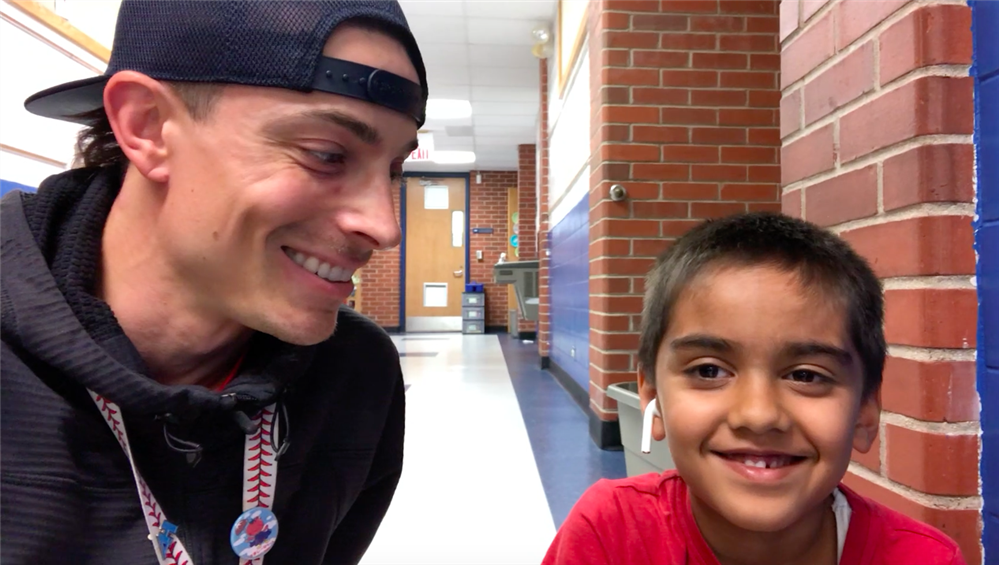 VIDEO: Math is his favorite. Let's find out why!