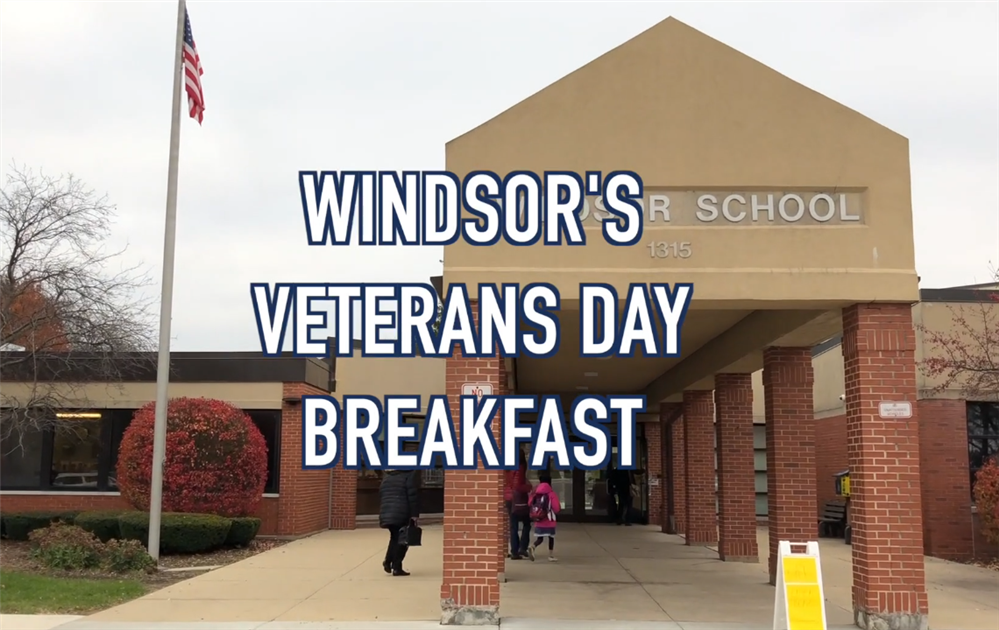 Veterans Day parade at Windsor