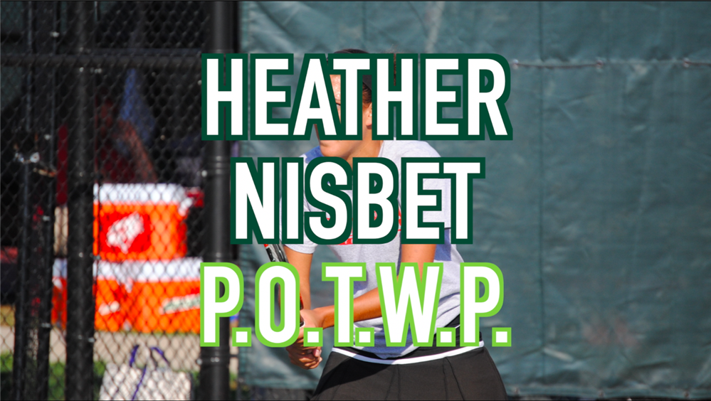 VIDEO: Heather Nisbet, 2019 POTWP Inductee