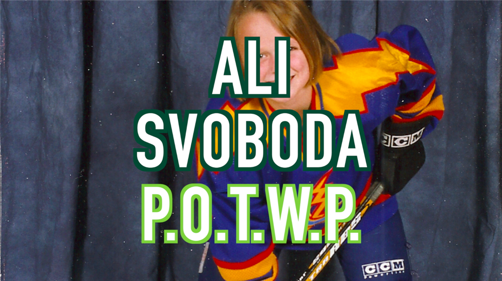 VIDEO: Ali Svoboda, 2019 POTWP Inductee