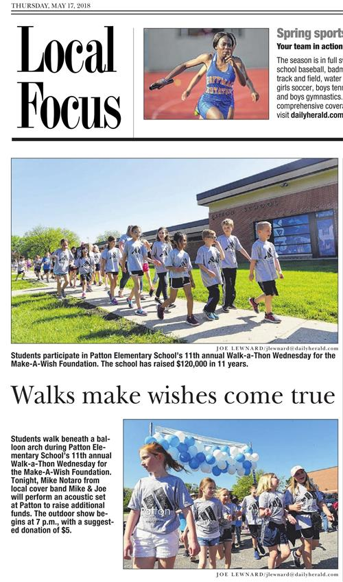 The Daily Herald - Thursday, May 17, 2018