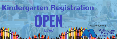 Click here to register your child for D25 Kindergarten