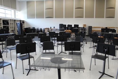 New band room.