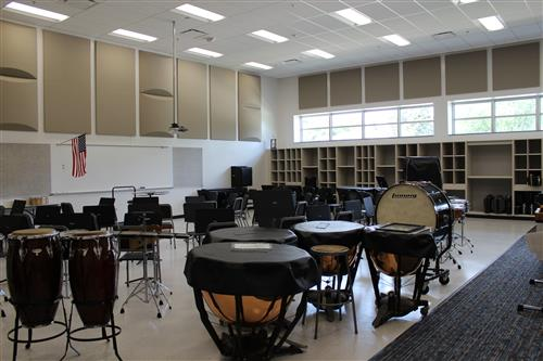 New TMS band room