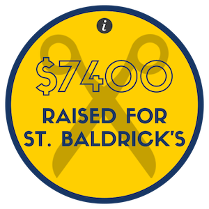 Our community is dedicated to giving and caring for others. Our students learn this and apply this to their lives. One big event we host yearly is our St. Baldrick's Fundraiser where students, teachers and community members shave their heads to raise money.