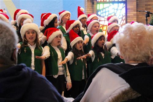 GB chorus singing!